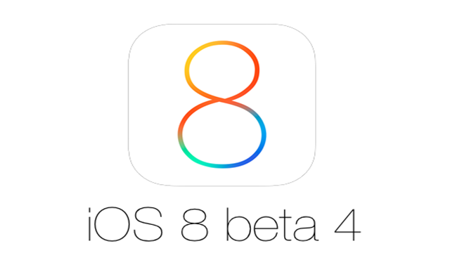 iOS 8 Beta 4 Yayınlandı