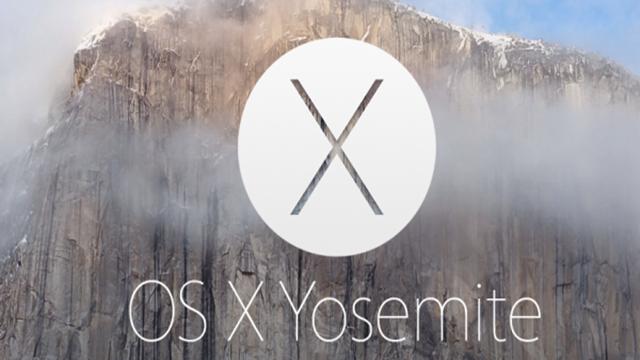 Mac OS X 10.10 Yosemite Yayınlandı