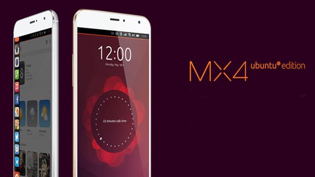 Meizu MX4 Ubuntu Edition Resmi Olarak Tanıtıldı