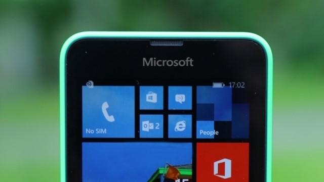 Microsoft Logolu Lumia Göründü