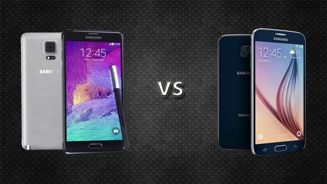 Samsung Galaxy S6 ve Samsung Galaxy Note 4 Karşılaştırması