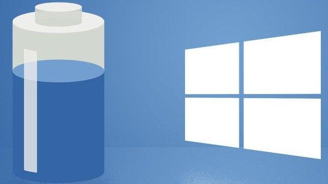 Windows 10'da Hangi Uygulama Ne Kadar Pil Tüketiyor?