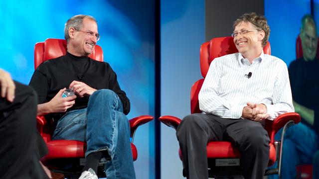 """Bill Gates: """"Steve Jobs ile Asla Aynı Lig'de Olmadım"""""""
