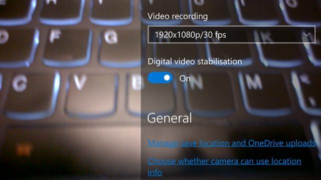 Dijital Görüntü Sabitleme Windows 10 Mobile için Hazırlanıyor
