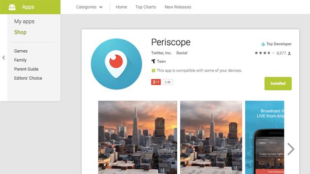 Google, Web Tarayıcılar İçin Yeni Bir Play Store Tasarımı Üzerinde Çalışıyor