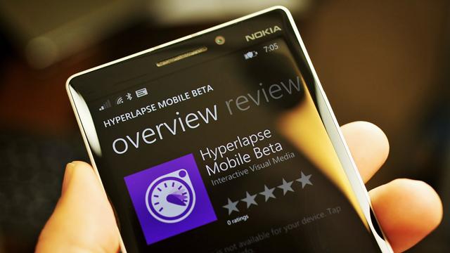 Hyperlapse Windows Phone Sürümü Beta Aşamasına Ulaştı