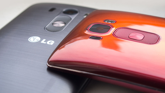 LG G Flex 2 ve LG G3 Karşılaştırması