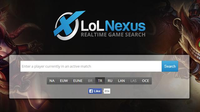 LoLNexus - Nasıl Kullanılır