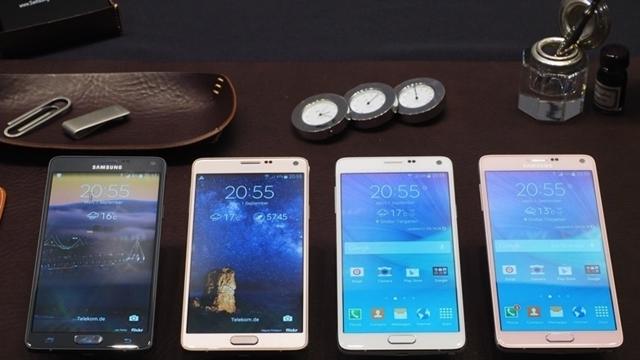 Samsung Galaxy Note 4 Tanıtıldı