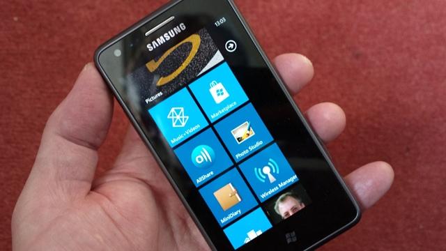 Samsung Yeni Windows Phone Projesine Hazır