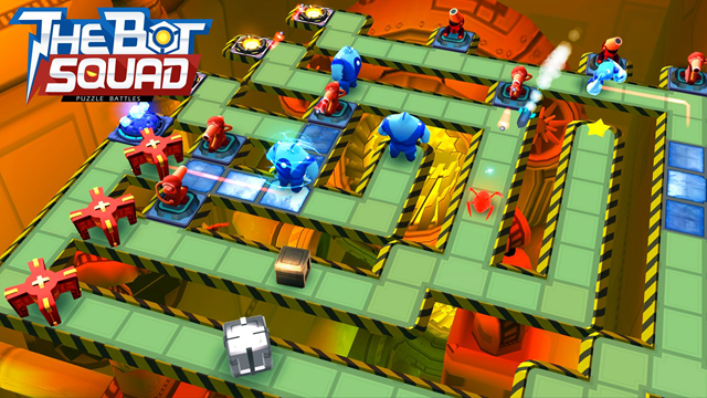 Haftanın iOS Oyunu: The Bot Squad: Puzzle Battles