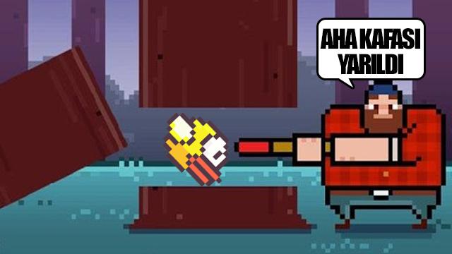 Timberman, Flappy Bird'in Tahtına Oturabilecek Mi?