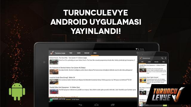 TuruncuLevye Android Uygulaması Yayınlandı