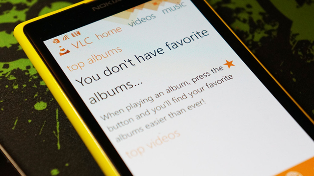 VLC for Windows Phone, Yüzde Yüz Kullanıcı Deneyimine Hazır