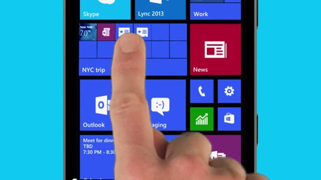 Windows Phone Denim Güncellemesi Live Tile Klasörleri Oluşturmanızı Sağlıyor
