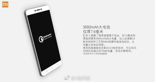 Xiaomi Redmi 5 Detayları Sızdırıldı!