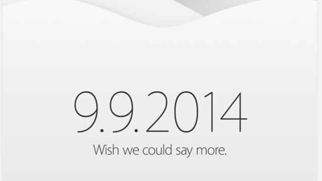Apple, iPhone 6 Etkinliğinin Tarihini Sonunda Kesinleştirdi