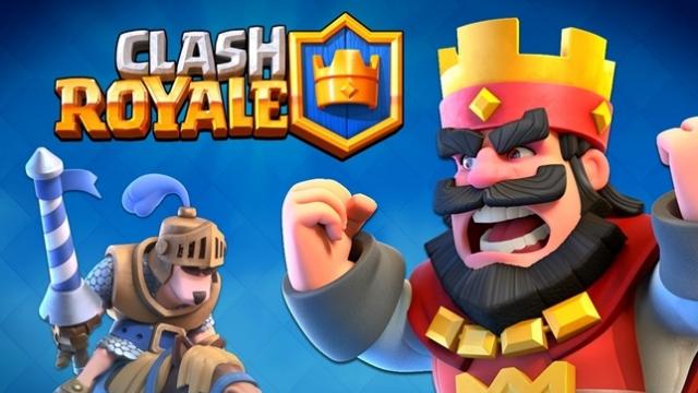 Clash Royale Çıkışıyla Birlikte Zirve Yaptı ve Liste Başına Ulaştı