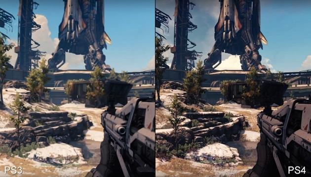 Destiny'nin PS3 Versiyonu, PS4'ten Biraz Daha Bulanık