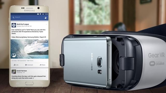 Facebook Kullanıcılarını Gear VR ile Sanal Gerçekliğe Davet Ediyor