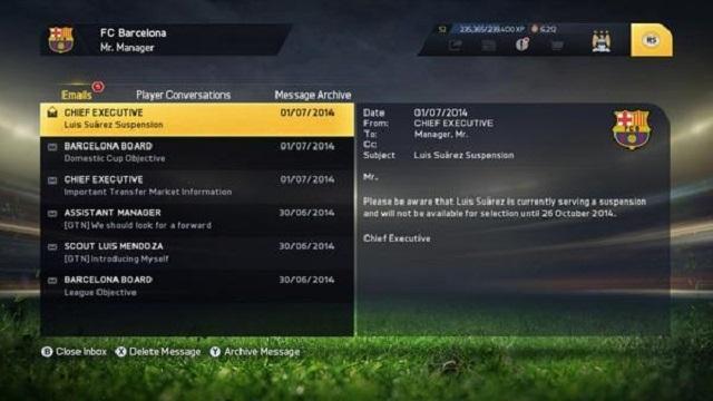 FIFA 15'te Luis Suarez'in Cezası Devam Edecek