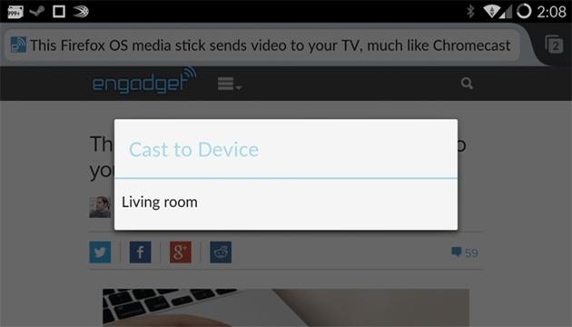 Android İçin Firefox Artık Chromecast Destekleyecek