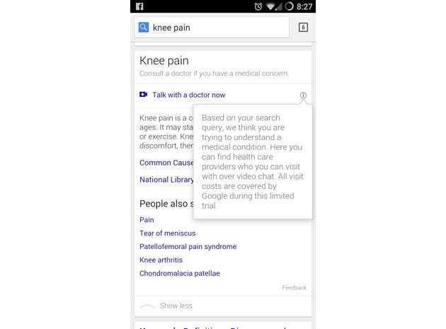 Google'ın Yeni Sistemi ile Doktorlar Bir Video Ötemizde
