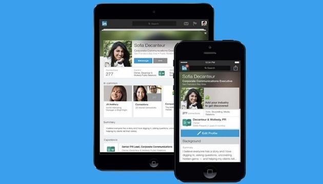 LinkedIn Mobil Uygulaması İçin Yeni Profil Güncellemesi Getiriyor