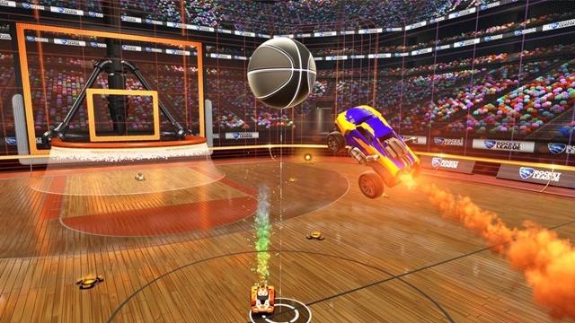 Rocket League'e Basketbol Modu Geliyor