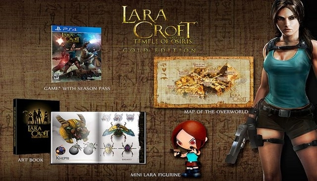 Lara Croft And The Temple Of Osiris, Gold Versiyonunu Alıyor
