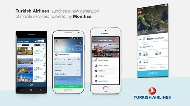 Türk Hava Yolları iOS ve Android Uygulamaları 350.000 Barajını Aştı