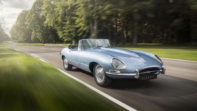 Efsane Araba Jaguar E-Type, Elektrikli Modeli İle Geri Dönüyor!