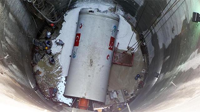 Türkiye'nin İlk Yerli Tünel Açma Makinesi 'Anadolu' Faaliyete Geçti