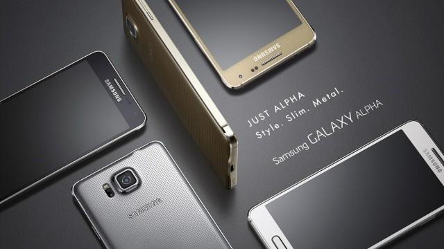 Samsung Galaxy Alpha'nın Satış Tarihi Belli Oldu