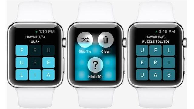 İlk Apple Watch Oyunu: Letterpad