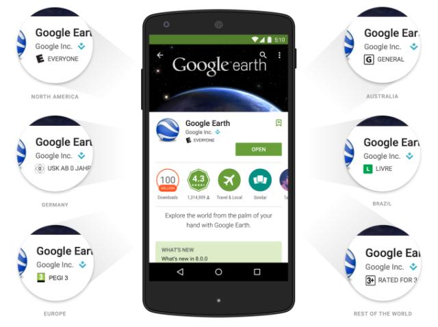 Google Play'e Yaş Tabanlı Değerlendirme Geliyor