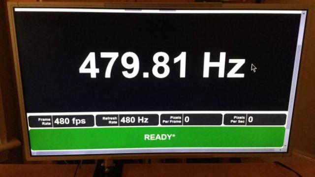 480 Hz'lik Monitör Geliştiriliyor!