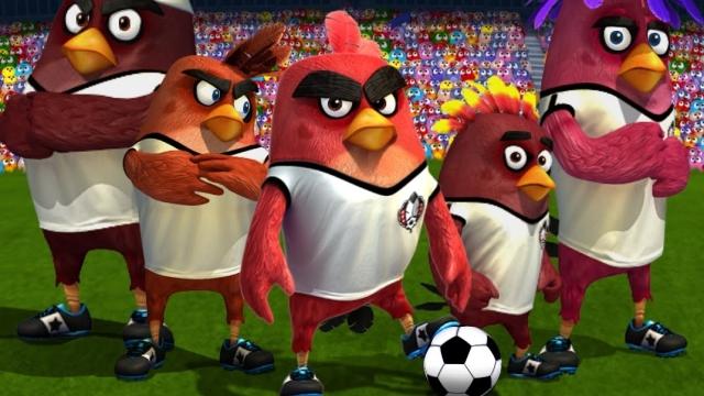 Angry Birds Goal! Futbol Oyunu Çıktı!