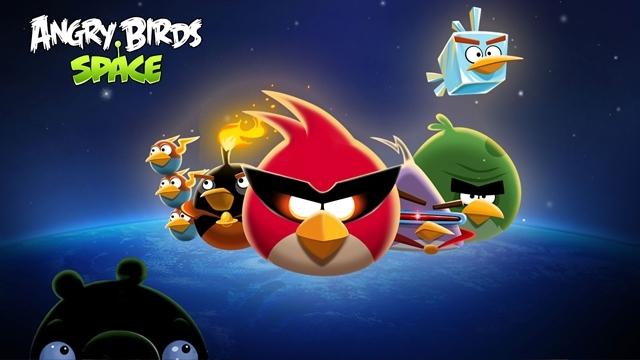 Angry Birds Space iOS Versiyonu Artık Ücretsiz!