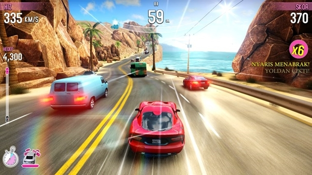 Asphalt Overdrive Windows 8 ve Windows Phone Versiyonları Yayınlandı!
