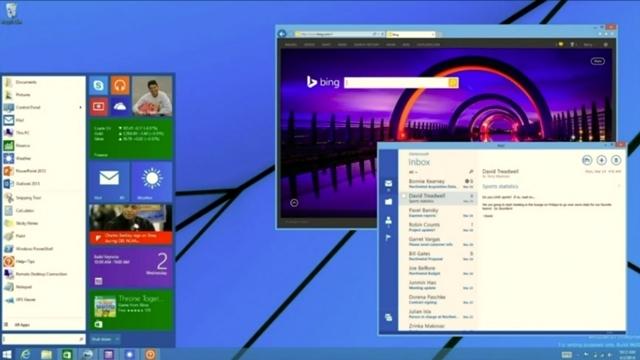 Başlat Menüsü Windows 8'e Geri Dönüyor!
