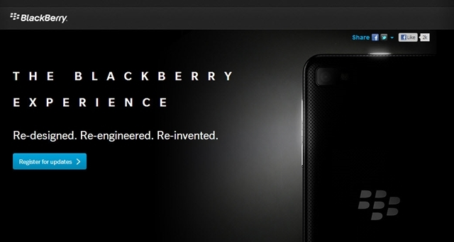 RIM'den Blackberry 10 İçin Küçük Bir İpucu