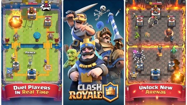 Clash Royale Artık Android Üzerinde Oynanabiliyor!