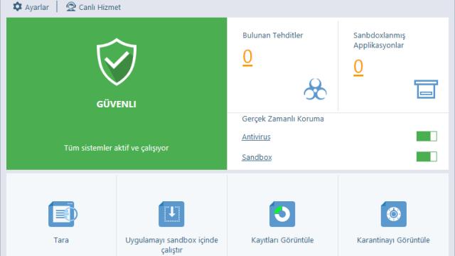 Comodo'nun Yeni, Güçlü ve Ücretsiz Antivirüs Çözümü Comodo Cloud Antivirus Yayınlandı!