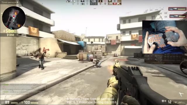 CS: GO'ya ve Tüm FPS Oyunlarına Hükmedecek Özel Gamepad Geliştirildi!