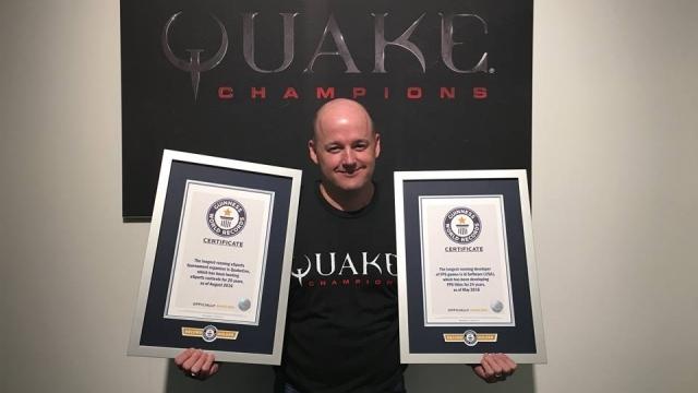 DOOM'un Geliştiricisi id Sofware 3 Alanda Guinness Rekorlar Kitabı'na Girdi