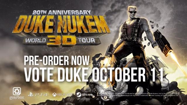 Duke Nukem 3D World Tour Resmi Olarak Duyuruldu!