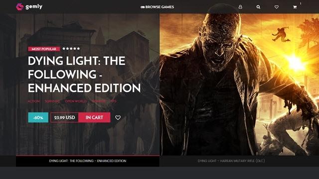 Dying Light'ın Geliştiricisi Steam Rakibi Gemly'i Hizmete Açtı