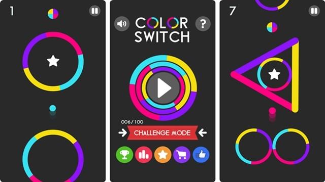 Elinin Ayarına Güvenen Gelsin! Color Switch Çılgınlığı Başladı!