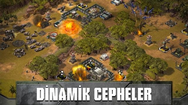 Empires and Allies ile Modern Savaş Keyfini Mobil Cihazlarınızda Yaşayabilirsiniz